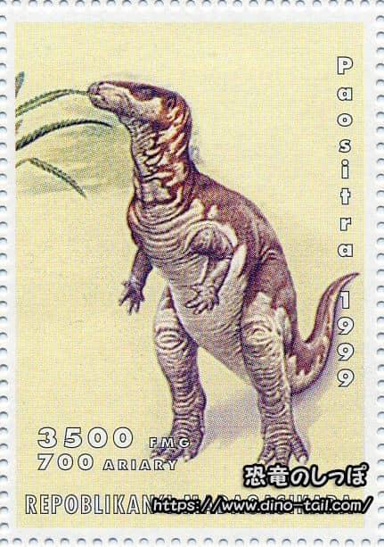 イグアノドン   恐竜のしっぽ -図鑑-